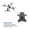 HGLRC Wind6 4S FPV Racing Drone F7 Dual Flight Control 65A 4in1 ESC 2408 2500KV Motor