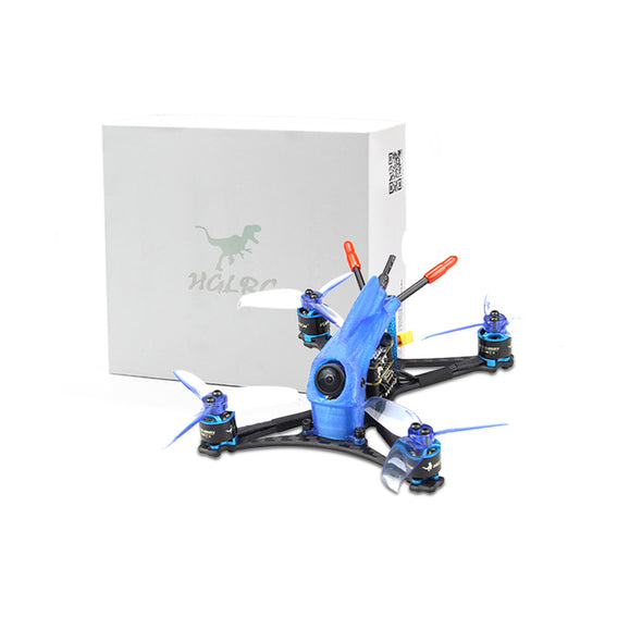 HGLRC Toothpick Parrot120 Pro micro 2-3S FPV Racing Drone PNP-Blue