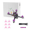 HGLRC XJB-145 145mm Micro FPV Racing Drone-PNP-PURPLE