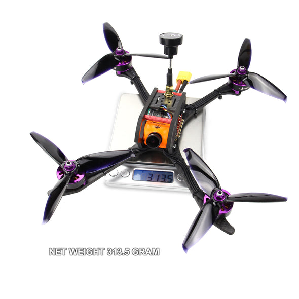 HGLRC 4-5s Mefisto 226MM FPV RACING DRONE PNP (Frame designed by Rotorama) - HGLRC Company