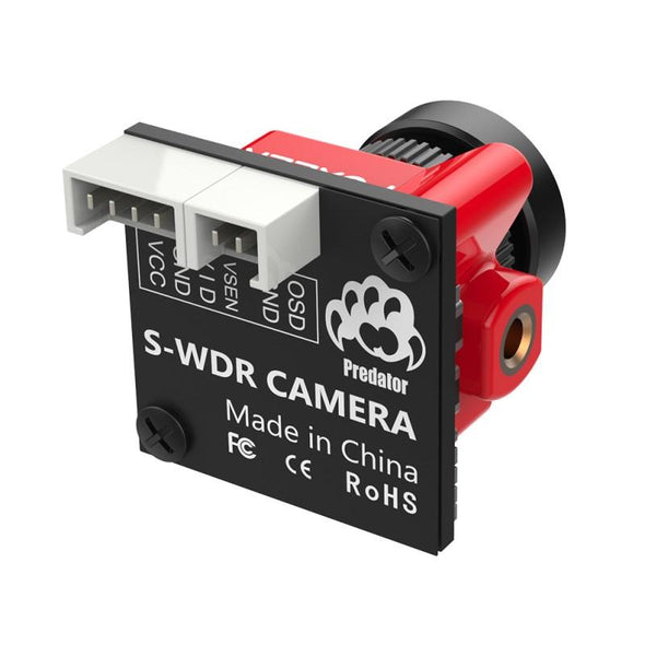 Foxeer Predator Micro 4 Super WDR 4ms Latency 1000TVL FPV Camera - HGLRC Company