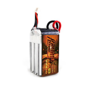 HGLRC KRATOS 6S1P 22.2V 650mAh 75C Lipo Battery with XT30 Plug - HGLRC Company