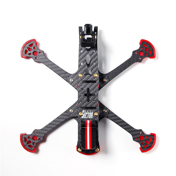HGLRC Sector 5 6 7 V3 HD Freestyle 3K Carbon Fiber Frame Kit for RC Drone FPV - HGLRC Company