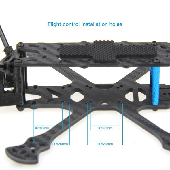 HGLRC Sector150 Freestyle Frame Kit with 3 inch propeller guard - HGLRC Company