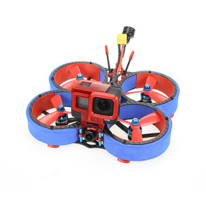 HGLRC Veyron 3 Cinewhoop FPV Racing Drone with Caddx Ratel 4S/6S - Blue - HGLRC Company