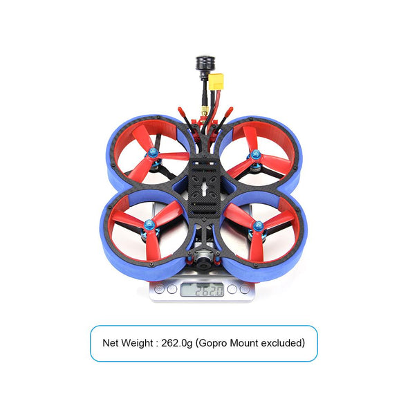 HGLRC Veyron 3 Cinewhoop FPV Racing Drone with Caddx Vista 4S/6S - Blue - HGLRC Company