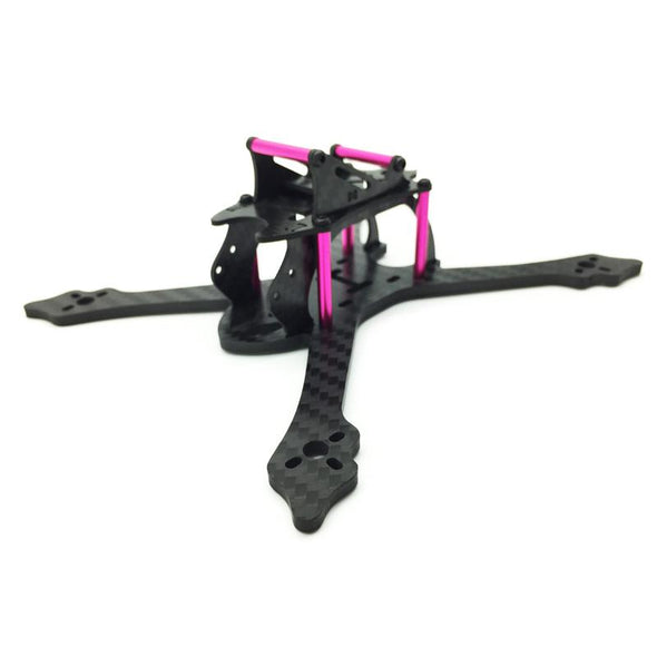 HGLRC VX145 Purple 145mm Wheelbase 3mm Carbon Fiber Frame Kit - HGLRC Company