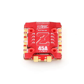 HGLRC Zeus 4in1 45A 3-6S BLHeli32 4in1 ESC 20x20mm for FPV Racing Drone with Heat Sink - HGLRC Company
