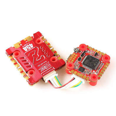 HGLRC ZeusF745 STACK FPV Racing Drone 3-6S F7 Flight Controller 45A BL32 4in1 ESC Heat Sink Compass Port - HGLRC Company