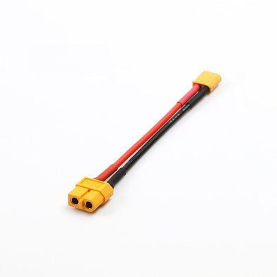 XT60 Female to XT30 Male 10cm Adapter Connector Cable - HGLRC Company