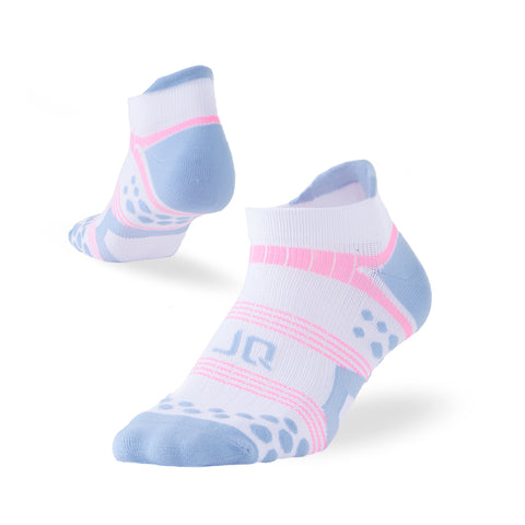 Antibacterial Athletic Ankle Tab Socks - Multicolor