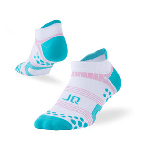 Buy 1 Get 4 for Free | 5 Pack Dotted Antibacterial Athletic Ankle Socks - Multicolor