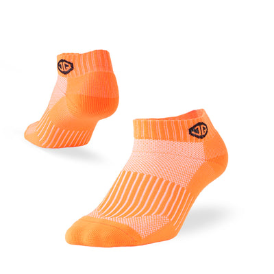 sports compression socks orange