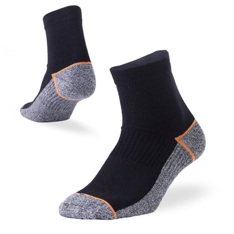 running socks black