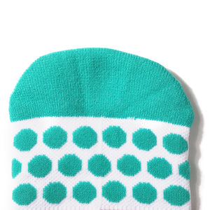women ankle socks with dots