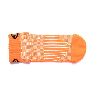 sports ankle socks orange
