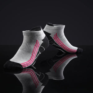 Antibacterial Anti-odor Athletic Ankle Socks - Multicolor