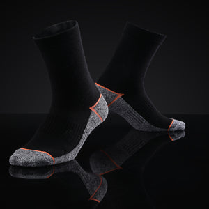 Antibacterial Anti-odor Athletic Crew socks - Multicolor