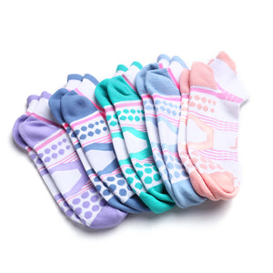 women ankle socks colorful