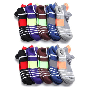 10 Pack Unisex Antibacterial Anti-odor Socks