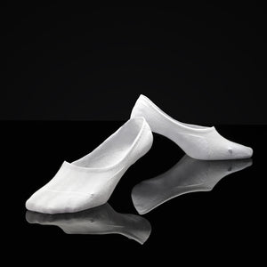 Antibacterial Anti-odor No show socks (Black/White/Gray)