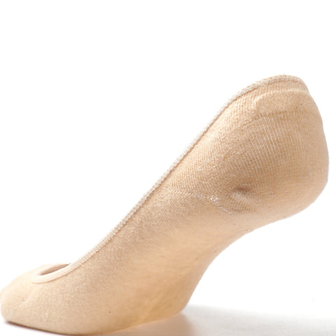 women no show socks skin color
