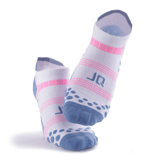 Dotted Antibacterial Athletic Ankle Socks - Multicolor