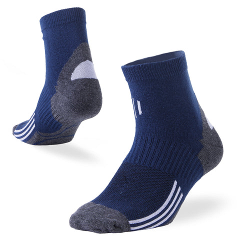quarter socks navy