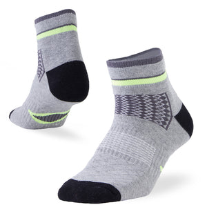 athletic ankle socks gray