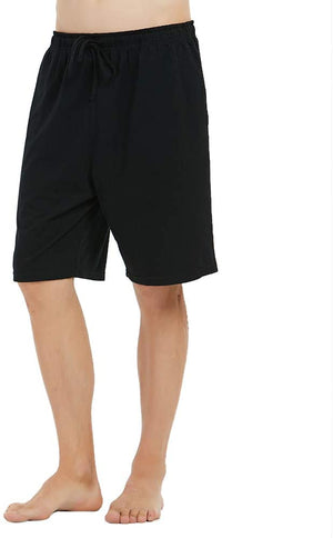 Starrynite Men's Cotton Shorts Lightweight Lounge Pant with Pockets Comfortable