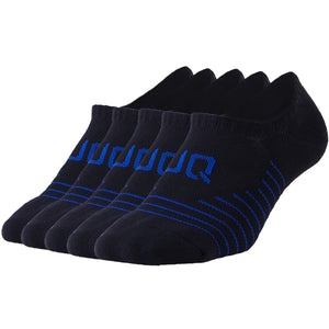 Buy 1 Get 4 for Free | 5 Pack Antibacterial Full Cushioned No Show Socks - Unisex