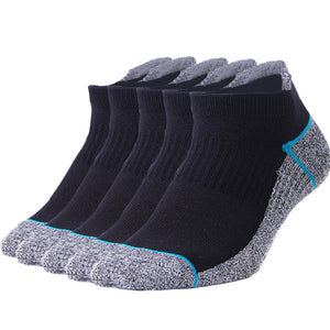 Buy 1 Get 4 for Free | 5 Pack Antibacterial Anti-odor Athletic Socks - Multicolor