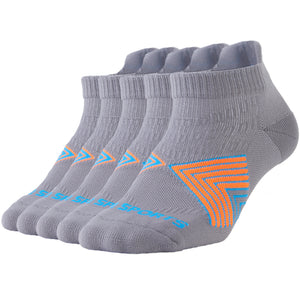 Buy 1 Get 4 for Free | 5 Pack Antibacterial Anti-odor Athletic Ankle Socks - Unisex