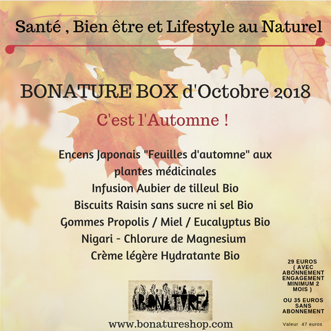 bonature box octobre
