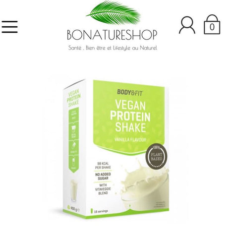 Protéine vegan Bonatureshop