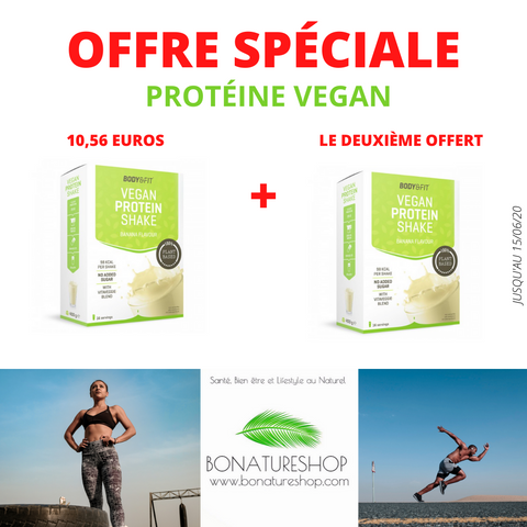 OFFRE PROTEINE VEGAN VEGETALE BONATURESHOP