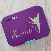 Tinkerbell Fairy & Name Personalised Lunchbox Label Sticker - Princess