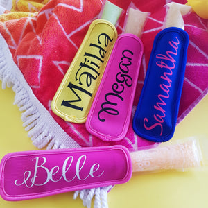 Personalised Icypole Holder - Neoprene Popsicle Zip Pop Sleeve