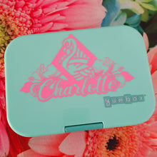 Miami Flamingo & Dance Knockout Name Lunchbox Decal Sticker - Ballet