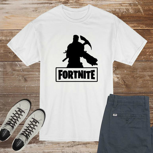 Fortnite Pickaxe Soldier Logo - DIY Iron-On Decal - Heat Transfer Vinyl (HTV)
