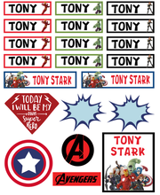 Avengers Superhero - Back to School Sticker & Decal Pack Marvel