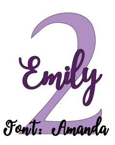 Personalised Birthday Shirt Design - DIY Iron-On Decal - Heat Transfer Vinyl (HTV)