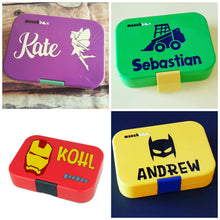 Name + Icon Designer - Fits Munchbox & Yumbox - Personalised Label - Mix & Match