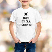 FIFO Fly In Day Kids Shirt - Size 1 - 16 Organic Cotton - Black or White