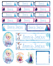 Frozen - Back to School Sticker & Decal Pack