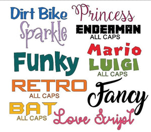 DIY Personalised Theatre Scrub Cap Decal - Iron On Name Label - Doctor / Nurse