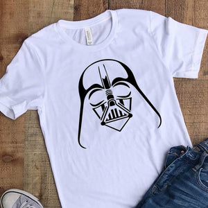 Darth Vader Star Wars  - DIY Iron-On Decal - Heat Transfer Vinyl (HTV)