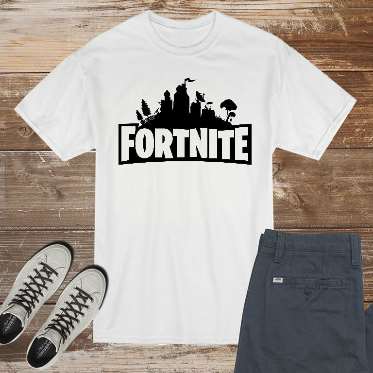 Fortnite Logo - DIY Iron-On Decal - Heat Transfer Vinyl (HTV)