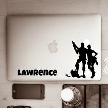 Fortnite Victory Stompers & Name Lunchbox Laptop Decal Sticker