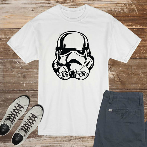 Stormtrooper Star Wars  - DIY Iron-On Decal - Heat Transfer Vinyl (HTV)